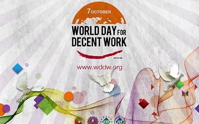 07. Oktober: Welttag für menschenwürdige Arbeit